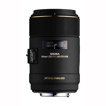 Sigma EX 2.8/105 DG MacroC/AF OS HSM - Teleobjetivo para Canon, Color Negro