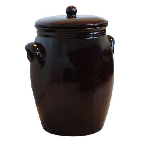 Original K&K Rumtopf 5,0 Liter - Form 2 / Mehrzwecktopf/Keramiktopf