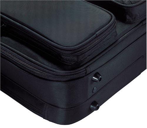 『エレコム ビジネスバッグ キャリングバッグ A4対応 16.4インチ ワイド クラムシェルタイプ ブラック BM-SA04BK』の12枚目の画像