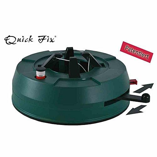 Star-Max F180 Quick Fix - Soporte para árbol de Navidad (plástico, 1 Unidad), Color Verde