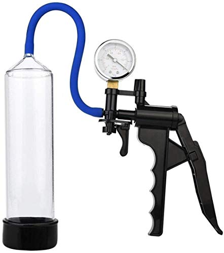 IJWBV Herren Pên-Pumpe mit Wachstumsdruck-Vergrößerung, verlängert effektiv und größerer Genuss (männlich, manuelle Vakuum-Pumpe)