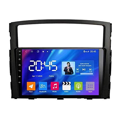 ZHANGYY Unidad Principal de 9 Pulgadas Android 8.1 2DIN Navegación estéreo para automóvil Compatible con Mitsubishi Pajero 2006-2014, Navegación GPS/Bluetooth/FM/RDS/Control del Volante/Cá