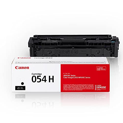 Canon Genuine Toner, Cartridge 054 Black, High Capacity (3028C001) 1 Pack, for Canon Color imageCLASS MF641Cdw, MF642Cdw, MF644Cdw, LBP622Cdw Laser Printers, Black High Capacity