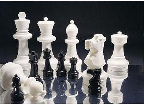 Rolly Toys rollySchachspiel für den Garten (16x Weiß und 16x Schwarz Figuren, max. H  der Figure30cm) 218912
