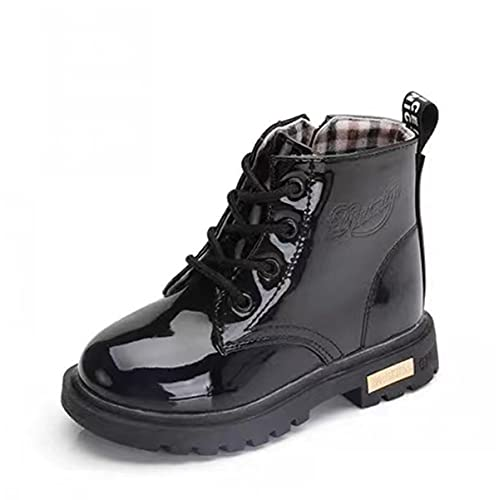Kids Boots Girls Boys Toddler Waterproof Warm Zip UP Shoes Kids Ankle Boots...