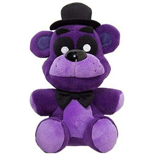 Five Nights at Freddy's Purple Freddy FNAF Plush 7' || US Stock