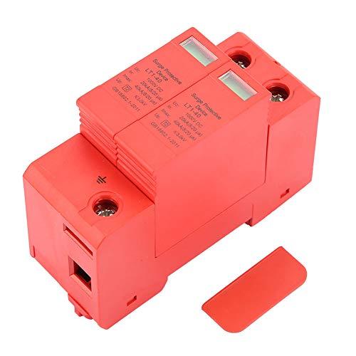 LANTRO JS - Dispositivo de Arrester DC1000V 2P 20KA-40KA Protección contra sobretensión pararrayos de bajo Voltaje del Protector de sobretensiones de la casa