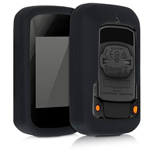 kwmobile Funda Compatible con Bryton Rider 15 - Carcasa de Silicona para GPS - Cover en Neg