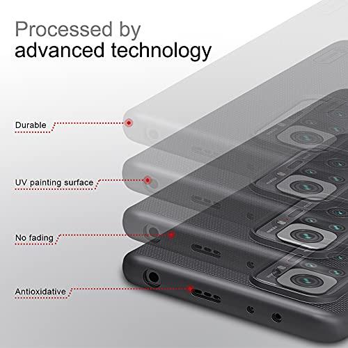 Nillkin Case for Xiaomi Redmi Note 10 Pro/Xiaomi Redmi Note 10 Pro Max Super Frosted Hard Back Cover PC (6.67