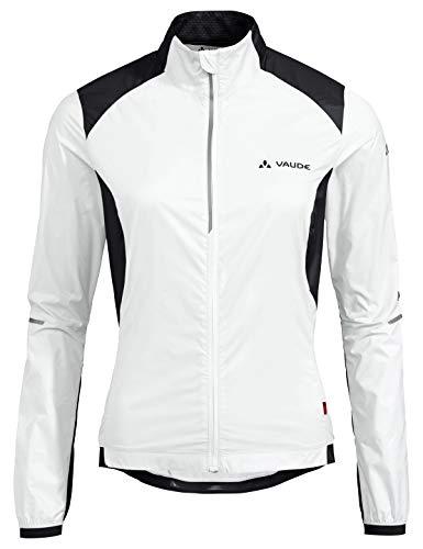 VAUDE Damen Jacke Women's Air Pro Jacket, White/Black, 38, 41825