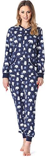 Merry Style Pijama Entero Una Pieza Ropa de Cama Mujer...