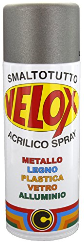 SPRAY VELOX FERRO MICACEO GRIGIO MEDIO ML.400