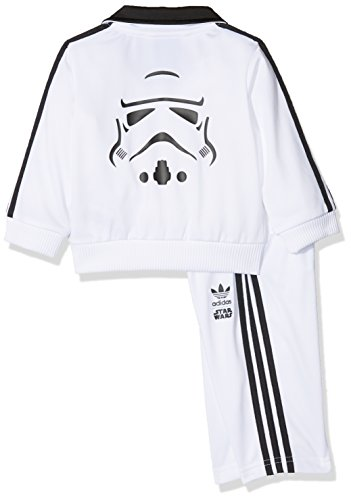 adidas Chándal Star Wars Stormtrooper Blanco/Negro 9 Meses (74 cm ...
