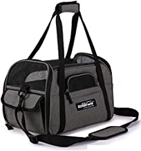 EliteField Soft Sided Pet Carrier (3 Year Warranty, Airline Approved), Multiple Sizes and Colors Available (Medium: 17