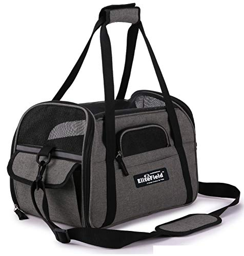 EliteField Soft Sided Pet Carrier (3 Year Warranty, Airline Approved), Multiple...