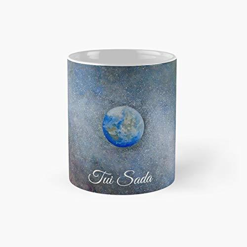 The Big Electron by Tui Sada – Taza clásica de pintura de acuarela mejor regalo divertidas tazas de café 11 oz