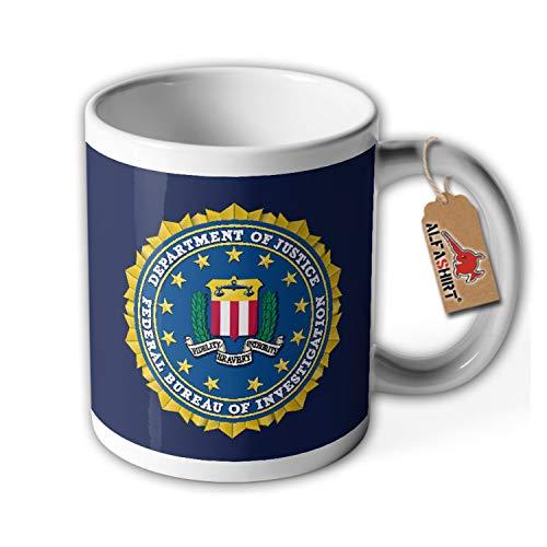Tasse FBI Abzeichen Wappen Bundespolizei USA Amerika Emblem USA #34697