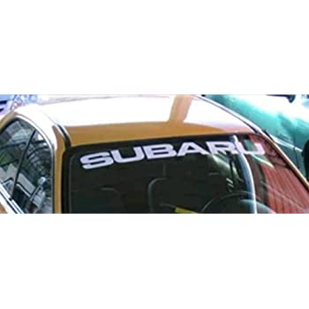 SUPERSTICKI/® Subaru Windshield Sun Visor Strip Sun Shade Banners Windshield Aufkleber Decal Hintergrund//Ma/ße in inch s Cars Stickers Vinyl Graphics ej20 WRX STI BRZ Turbo