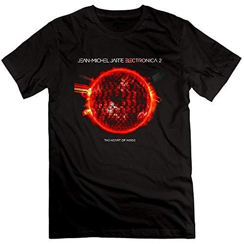 ATAT-1 Men's Jean Michel Jarre Electronica Heart of Noise 100% Cotton T Shirts