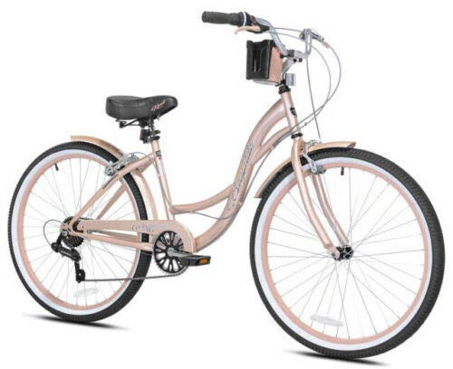 Motorcycle 26 inch Bayside Cruiser Bike - Rose Gold - Assembly Required Kent ON Hand