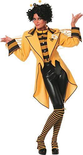 NEU Damen-Kostüm Bienen-Frack, gelb, Gr. 50-52