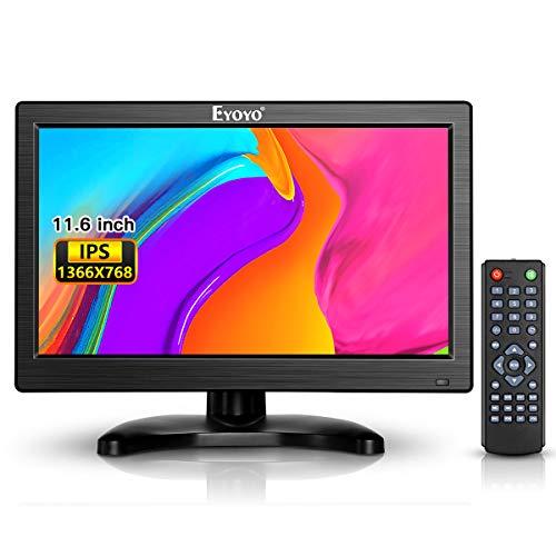 Eyoyo Monitor für CCTV DVD PC und Kamera Suravaillance 12 Pouces 1366X768