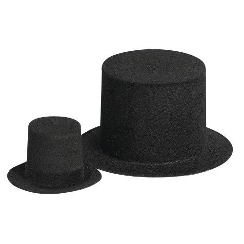 RAYHER - Velour-Zylinder, 52 mm ø, lose, schwarz [Spielzeug]