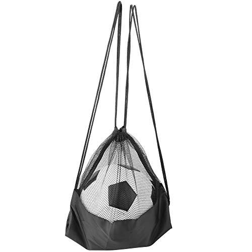 RiToEasysports Bolso de Lazo del Baloncesto de los Deportes, Mochila Ligera del Softball del Voleibol del fútbol del balón de fútbol para Las Mujeres de los Hombres