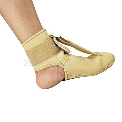 Plantar FXT Night Splint Black Night Time Relief for Plantar Fasciitis Foot Up Brace Medical Ankle Support Treat Heel Pain Best Foot Pain Relief Orthosis Healthcare Products (Beige Medium)