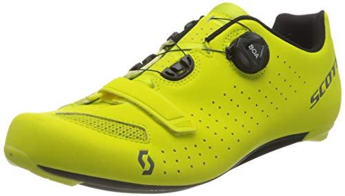 Scott Herren CARRETERA COMP BOA Sneaker, MATT Sulphur Yellow/Black, 46 EU