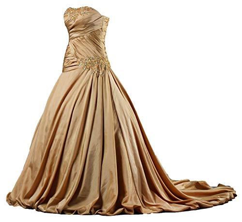 Off the Shoulder Taffeta Wedding Dress