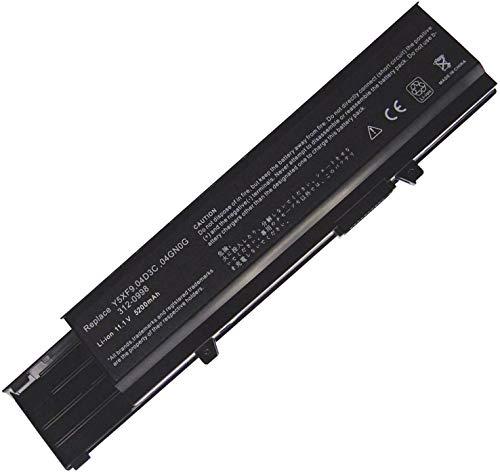 onlyguo 11.1V 5200mAh 7FJ92 Y5XF9 04GN0G Laptop Battery For DELL Vostro 3400 3500 3700 P10G P09F P06E 04D3C 0TY3P4 CWX2D 312-0997 4JK6R 312-0998