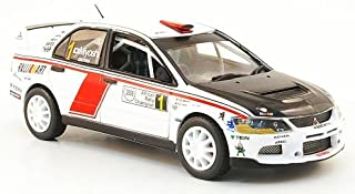 Mitsubishi Lancer EVO IX, No.1, Rally Africa, 2008, Modelo de Auto, Modello Completo, Vitesse 1:43