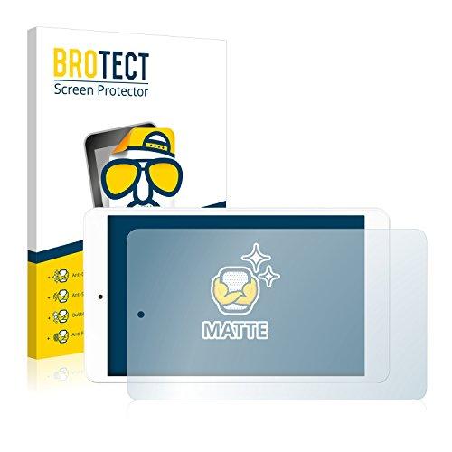 BROTECT 2X Entspiegelungs-Schutzfolie kompatibel mit Odys TigerTab 8 Displayschutz-Folie Matt, Anti-Reflex, Anti-Fingerprint