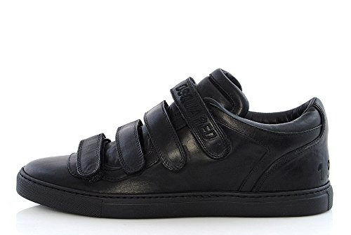 Scarpa Uomo, DSQUARED2, Sneakers, SN115 V250, Pelle NAPPA SPORT, Strappi, DSQUARED D2
