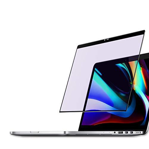 PERFECTSIGHT Anti Glare Screen Protector for MacBook Pro 13 Inch Mode A1425/A1502 (2012-2015) [Eye Care] UV Blue Light Filter Anti Fingerprint Tempered Glass