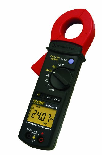 AEMC 565 Excellence TRMS Leakage Current and supreme Range 100A Meter Probe