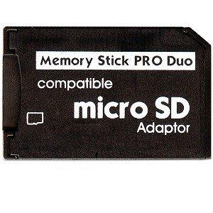 Keple | Micro SD Per Memory Stick PRO Duo Adapter Per Sony PSP Card E Fotocamera Digitale | Microsd A MS Pro Duo Memory Card Reader Pro Duo Memory Card Converter