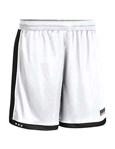 Derbystar Pantalon Brillant L Blanc/Noir