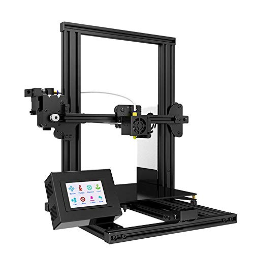 No-Branded 3d Printer XY-2 Fast Assembly Full Metal 3D Printer 220 * 220 * 260mm High Printing Magnetic Heat Paper 3.5 Inches Touch Screen