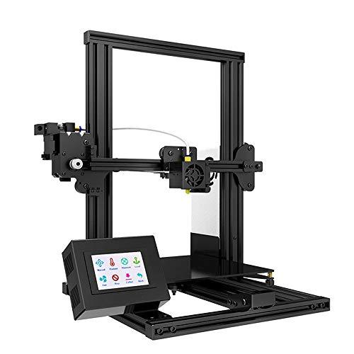 H.Y.FFYH Imprimante 3D Tronxy XY-2 Imprimante 3D Full Metal Assemblage Rapide Full 220 * 220 * 260mm Haute Impression Magnétique Papier de Chaleur Magnétique Écran Tactile de 3,5 Pouces