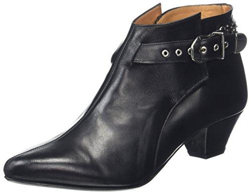Won Hundred Shoes Damen Nessa Stiefel, Schwarz (Shoe Colour Black 99), 38 EU