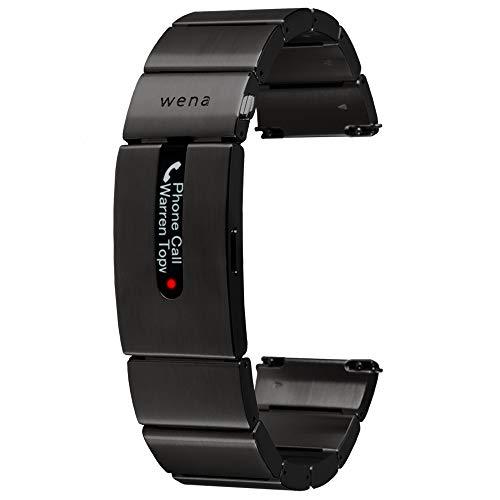 Sony Wena Active Smartes Fitnessarmband für Uhren mit GPS und optischem Herzschlagsensor