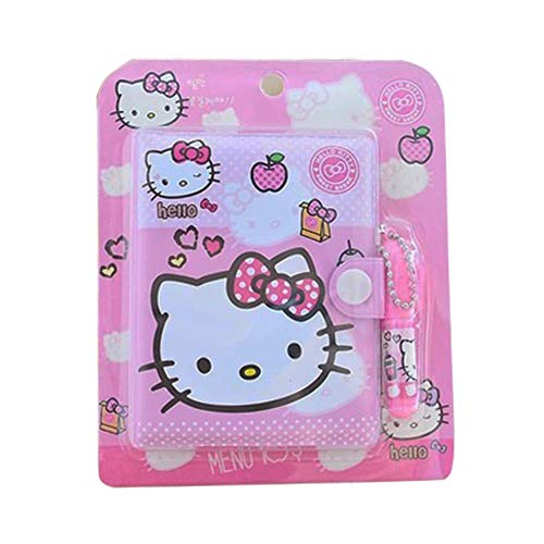 Cartoon Small Travelers Notebook With Pen Kit Cute The Notebook Anime Pocket Notebook For Women Cute Cat To Do List Notebook Cute Mini Notebook Anime Pink Notebooks Cat Notebook Writing Pads