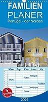 Portugal - der Norden - Familienplaner hoch (Wandkalender 2022 , 21 cm x 45 cm, hoch): Der Norden Portugals wird in wunderschoenen Bildern der Fotografin Anneli Hegerfeld-Reckert in seiner ganzen Vielfaeltigkeit gezeigt. (Monatskalender, 14 Seiten )