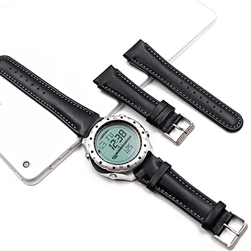 Correa de reloj de bolsillo de cuarzo suave vintage para hombre, compatible con Suunto X-LANDER Landes Spartan Warrior, correa de reloj de deportes al aire libre, correa de reloj para hombre