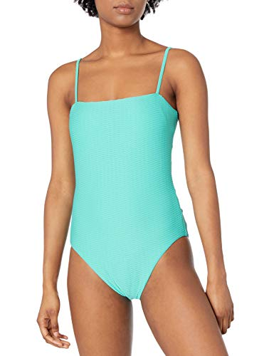 Seafolly Damen Tube Maillot One Piece Swimsuit Einteiliger Badeanzug, La Luna Antigua Blau, 38