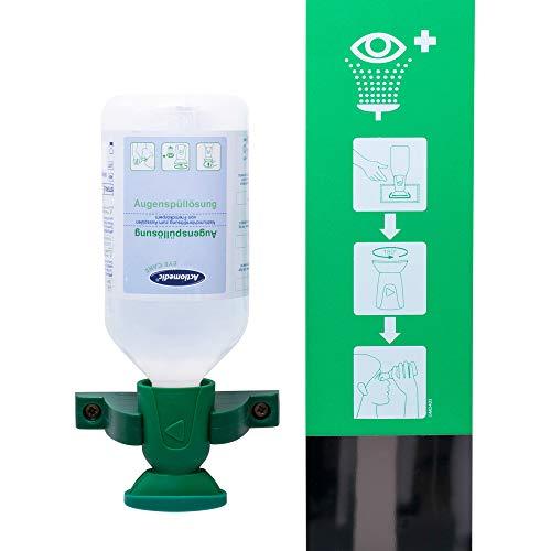 Augenspülstation 500 ml Flasche NaCl Spüllösung - EN 15154-4