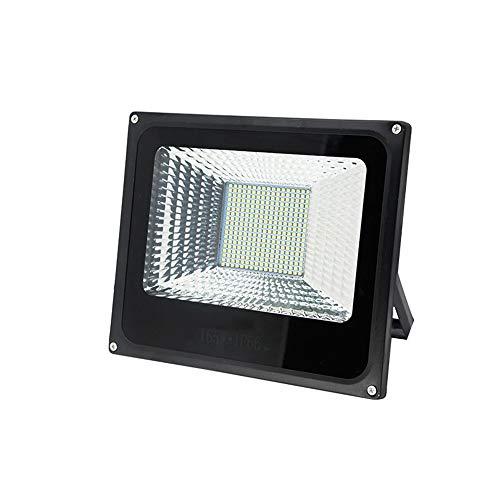 HUOQILIN 165W LED Flood Light (300W équivalent) Daylight Stadium Lights IP66 Étanche Luminaire De Sécurité Extérieur étanche pour Backyard Warehouse Playground 2Pack