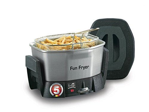 Fritel Fun Fryer FF 1200, Acero inoxidable - Freidora
